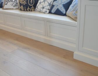 Prefinished Wood Flooring, Structured Wide Plank Mist By Sawyer Mason.  Quick View