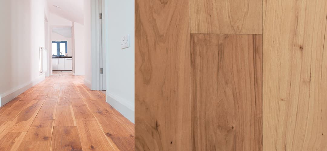 hickory wide plank