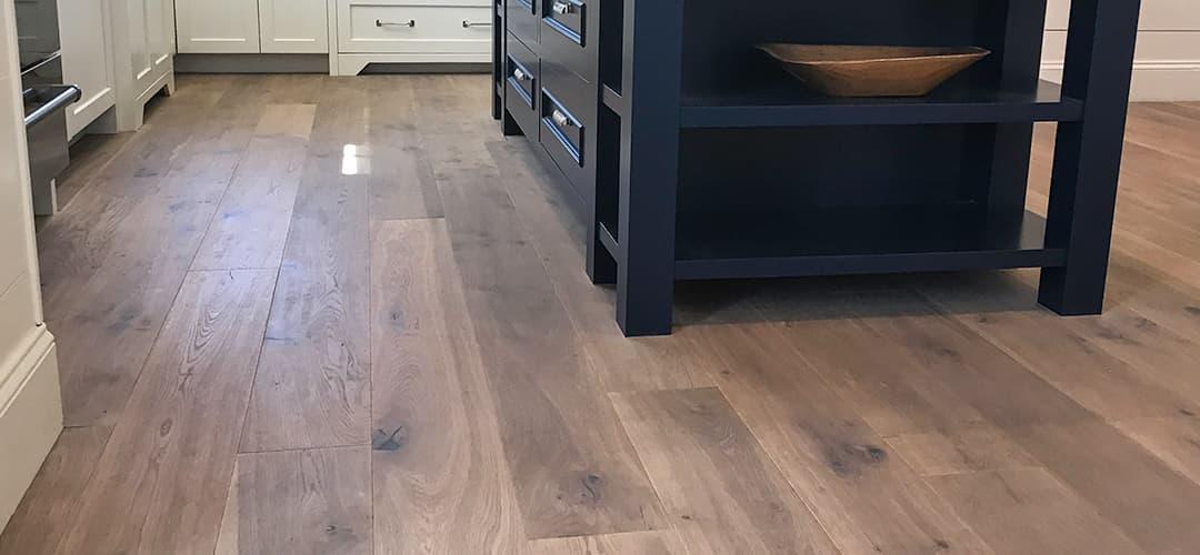 Wide Plank French Oak Copley Featuring A Matte Floor Finish