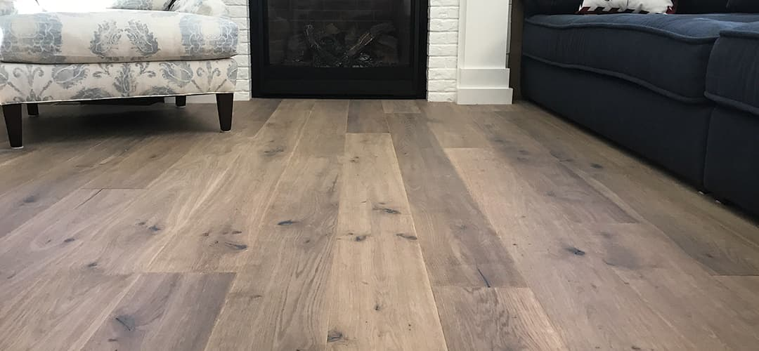 Structured Matte Floor Finish Copley Wide Plank Flooring