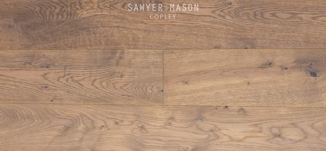 Wide Plank French Oak Copley Featuring A Matte Floor