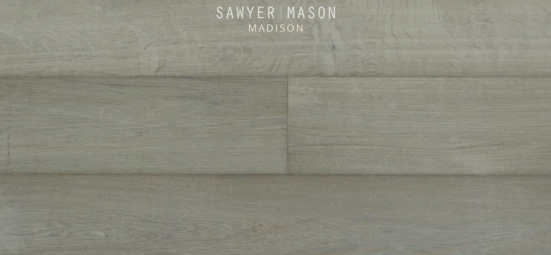 Madison - Wide Plank Engineered Grey Wood Floors