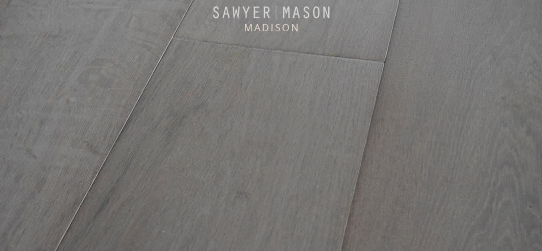 Grey Wood Floors Engineered Wide Plank Madison Sawyer