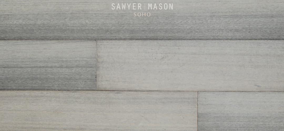 Soho Wide Plank Engineered Gray Wood Flooring