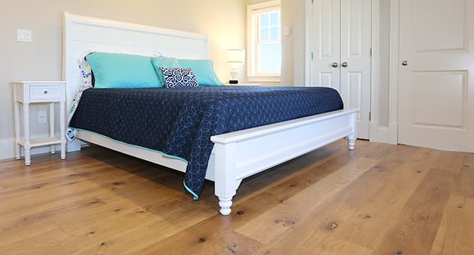Chestnut Hill installed in Seaside Paradise Bedroom
