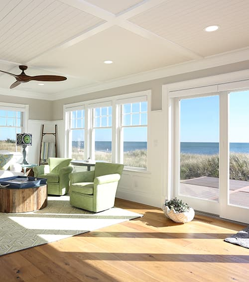 Seaside Paradise Chestnut Hill Living Room with Ocean View