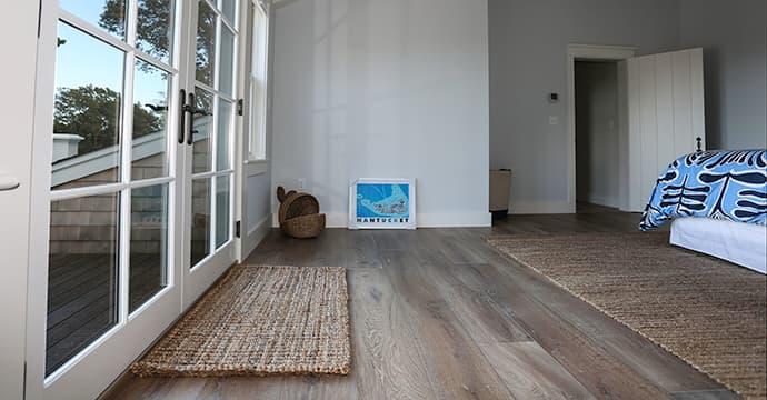 Grey Wood Floors   Sawyer Mason Wide Plank Prefinished Flooring