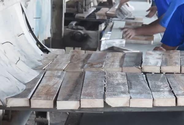 Building Structured Flooring, Sawyer Mason Core Filet Preparation