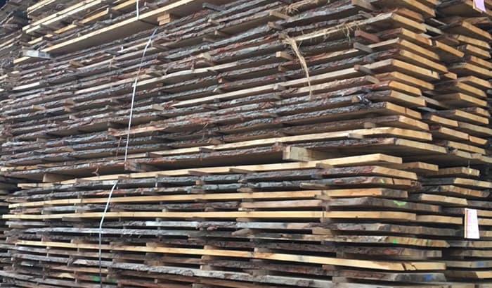 Building Structured Flooring, Sawyer Mason Wide Plank Raw Face Veneer Materials