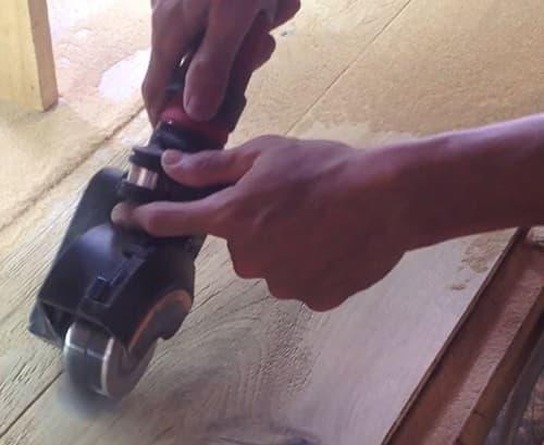 Building Structured Flooring - Sawyer Mason Wide Plank, Hand Crafted Handbrushing