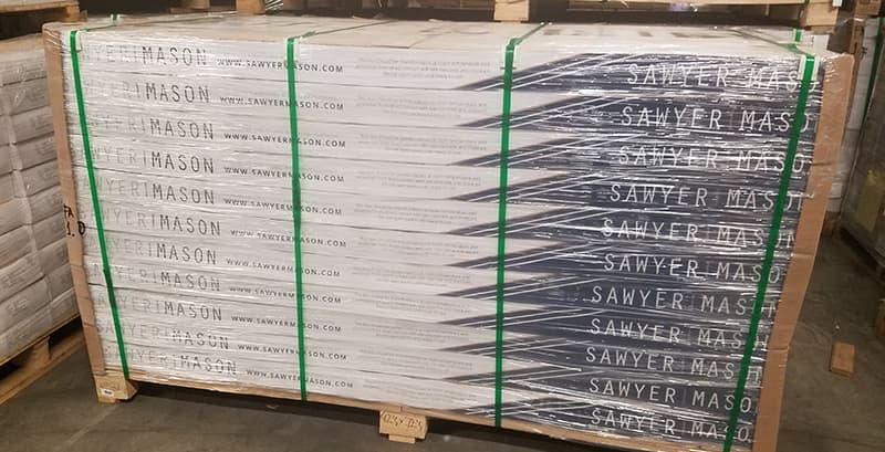 Building Structured Flooring, Sawyer Mason Wide Plank - Flooring Pallet
