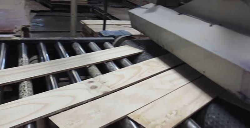 Building Structured Flooring, Sawyer Mason Sanding the Core