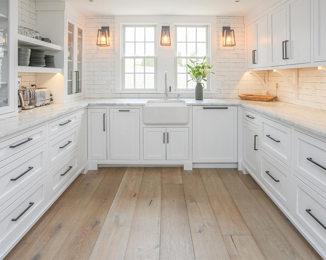 saywer mason madaket matte finish hardwood flooring kitchen
