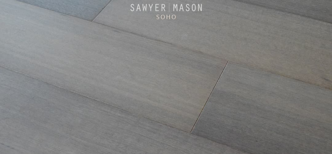 Gray Wood Flooring Wide Plank Engineered Soho