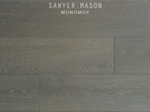 Monomoy Gray Wood Floors by Sawyer Mason Structured Wide Plank