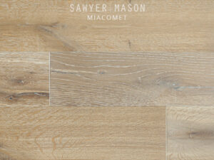 Wire Brushed Oak Flooring, Miacomet by Sawyer Mason Structured Wide Plank
