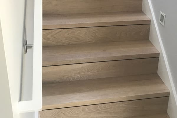 Oak Bluffs Eased Edge Stair With No Returns