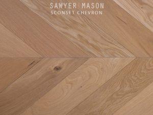 Sawyer Mason Sconset Chevron Pattern Floors