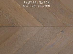 Sawyer Mason Westport Chevron Wood Floors