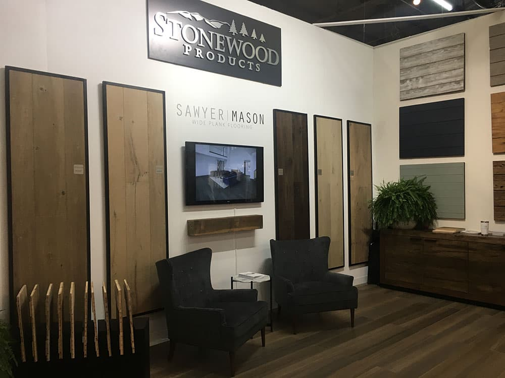 Sawyer Mason at Architectural Digest Design Show 2019