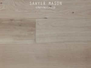 Unfinished Sawyer Mason Structured Wide Plank Flooring