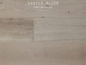 Unfinished Sawyer Mason Structured Wide Plank Flooring