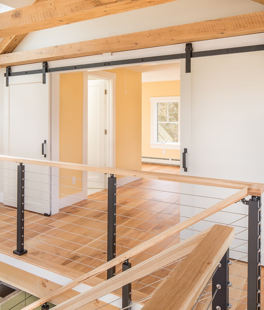 Open Concept Hickory Pecan Featured Installation Sawyer